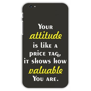 Crazy Beta Attitude Quotes Printed Back Cover For Apple iPhone 6 Plus