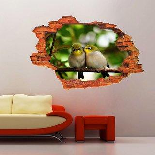 Impression Wall Cute Birds Poster