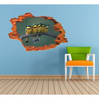 Impression Wall Birds Poster