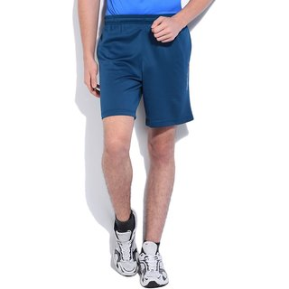 Dark blue sports and gmy shorts