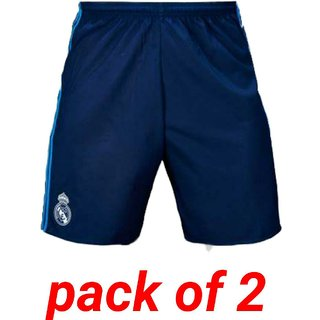 Real madrid football sports shorts