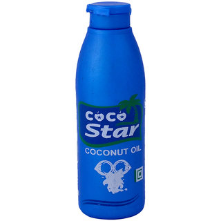 COCO Star Pure Coconut Hair Oil For All Hair Types - 100 Ml cocostar12 (No of units 1)