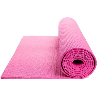 WOODY 8MM YOGAMAT FOR EXERCISE FITNESS MEDIATION YOGA GYM WORKOUT ( NON SLIPERY)