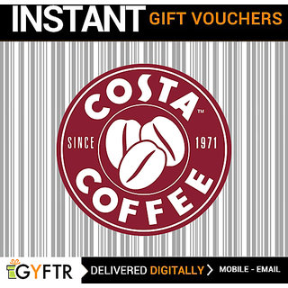 Costa Coffee GyFTR Insta Gift Voucher INR 500