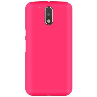 Hard Back case cove for Moto G4 Plus -Pink
