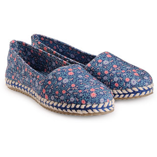 Nell Women's Blue Flats
