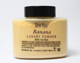 Ben Nye Banana Powder 42g Bottle Luxury Powder Poudre de Luxe Banana Loose