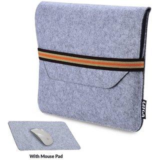 GIZGA 15.6 inch Protective Felt Laptop Sleeve (Light Grey)
