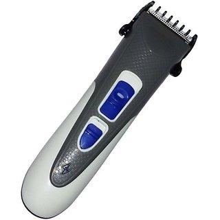 novva Rechargeable Ak-8008 Trimmer For Men (Grey)