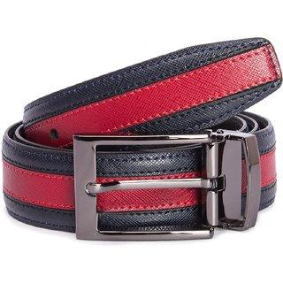 Risa Mens Navy Red Belt