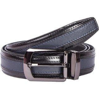 Risa Mens Navy Black Leather Blet