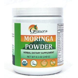 Moringa Leaf Powder - 240 gram Jar / Certified Organic