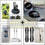 Bracketron Heavy Duty Mobile Holder & Alpha Aux Cable & I Pop Anti Slip Mat & I Pop New Door Guard