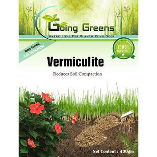 Going Greens Organic Vermiculite 200 gms (Reduces Soil Compactions)