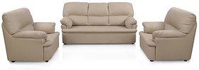 Earthwood -   Typhoon  Five Seater  Sofa Set (3+1+1) in Beige