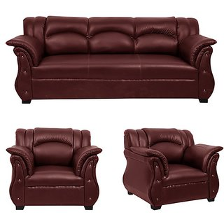 Earthwood -  Phantom  Five  Seater Sofa (3+1+1) in Brown