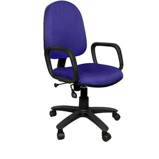 Earthwood - Moon Revolving Office Chair Blue