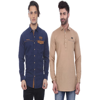 Apris Mens Casual Combo Shirts