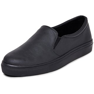 Marc Loire Women Black Slip on Loafers