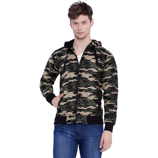 Campus Sutra Green Casual Jacket