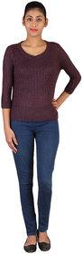 Lee Women's Maroon Sweater