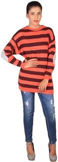 Lee Women's Orange Sweater