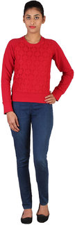 Lee Women's Red Sweatshirt