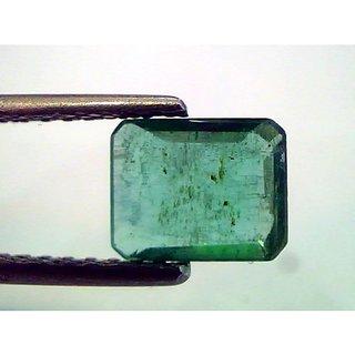 1.46 Ct Untreated Natural Zambian Emerald Gemstone Real Panna