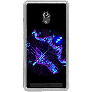 ifasho zodiac sign Sagitarius Back Case Cover for Asus Zenfone 6