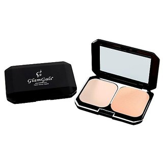 GlamGals Two Way Cake Pink Compact ,SPF 15,12g