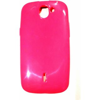 reputable site 47104 880d4 AR ACCESSORIES PLAIN FORMAL PINK BACK COVER FOR XOLO Q600