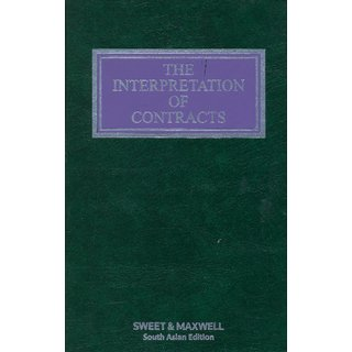 The Interpretation Of Contracts (English)