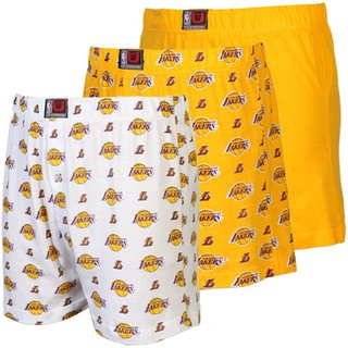 KOTTY Yellow Printed Boxers for Men