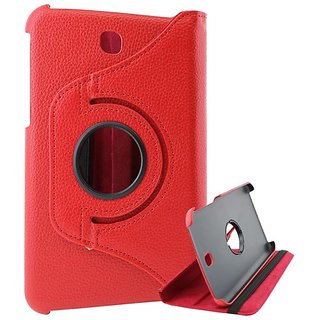 ENVY Full 360 Rotating Flip Book Cover Case Stand for Samsung Galaxy Tab 3 T211