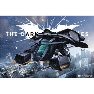 Hungover The Bat The Dark Knight Rises Official Artwork Special Paper Poster (12x18 inches)