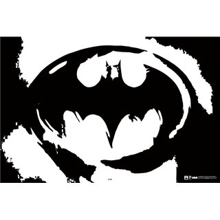 Hungover Dc Batman Logo Official Artwork Special Paper Poster (12x18 inches)