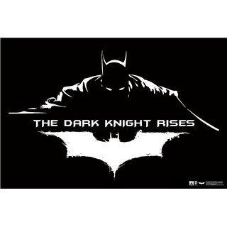 Hungover Batman The Dark Knight Rises Artwork Special Paper Poster (12x18 inches)