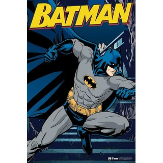 Hungover Batman The Urban Legend Comics Special Paper Poster (12x18 inches)