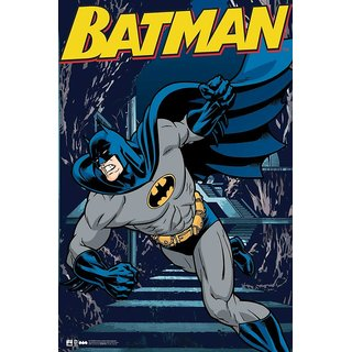 Hungover Batman The Urban Legend Comics Special Paper Poster (12x18 inches)