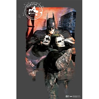 Hungover Batman Poster Arkham City Official Artwork Special Paper Poster (12x18 inches)