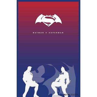 Hungover Batman Vs Superman Official Artwork Special Paper Poster (12x18 inches)