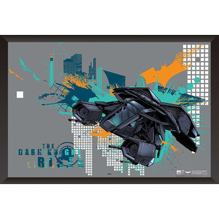 Hungover The Bat Poster The Dark Knight Rises Official Artwork Special Paper Poster (12x18 inches)