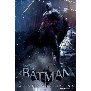 Hungover Batman Arkham Origins Artwork Special Paper Poster (12x9 inches)