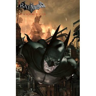 Hungover Batman Arkham City Official Artwork Special Paper Poster (12x9 inches)
