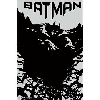 Hungover Batman Official Artwork Special Paper Poster (12x18 inches)