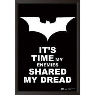 Hungover Batman Quotes The Dark Knight Special Paper Poster (12x9 inches)