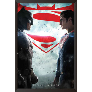 Hungover Batman Vs Superman Official Artwork Special Paper Poster (12x9 inches)
