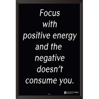 Focus With Positive Energy