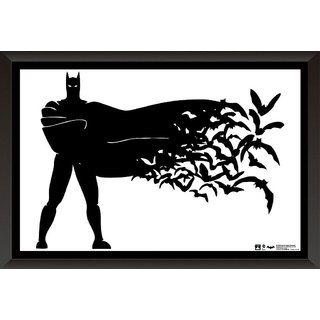 Hungover Batman Official Artwork Special Paper Poster (12x9 inches)