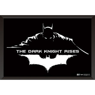 Hungover Batman The Dark Knight Rises Artwork Special Paper Poster (12x9 inches)